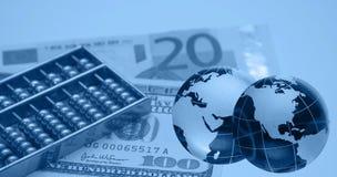Montaggio finanziario Fotografie Stock