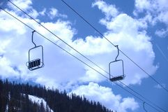 Montagna 409 dello Snowy Fotografie Stock