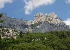 Montagna Ai-Pétri della Crimea Immagine Stock