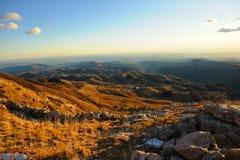 Montagna Alba Alba Mountain Immagine Stock