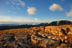 Montagna Alba Alba Mountain Fotografie Stock Libere da Diritti