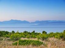 Montagna albanese Immagine Stock