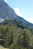 Montagna Alpe Fotografie Stock