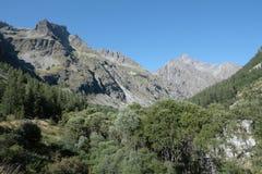 Montagna in alpi, Francia Immagine Stock Libera da Diritti