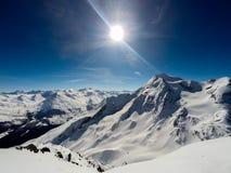 Montagna, alpi, Francia Immagini Stock Libere da Diritti