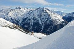 Montagna alpina Immagini Stock Libere da Diritti