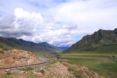 Montagna Altai Immagine Stock