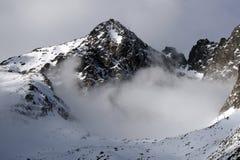 Montagna - alto tatry (pleso di Skalnate, Slovacchia) immagine stock libera da diritti