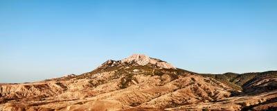 Montagna & cielo blu fotografia stock