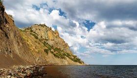 Montagna & paesaggio del mare immagini stock