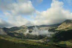Montagna in Andorra Immagini Stock Libere da Diritti