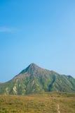 Montagna in Asia, autunno fotografia stock libera da diritti