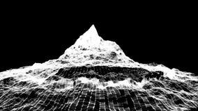 Montagna astratta Paesaggio di Digital capace di avvolgere archivi video