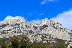 Montagna Ay-Pétri Fotografia Stock Libera da Diritti