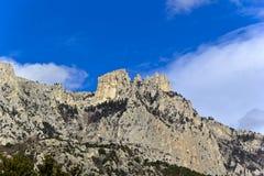 Montagna Ay-Pétri Immagini Stock Libere da Diritti