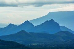 Montagna bella fotografie stock