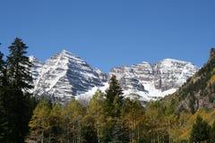 Montagna bianca Fotografie Stock