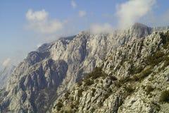 Montagna Biokovo in Croazia Fotografie Stock