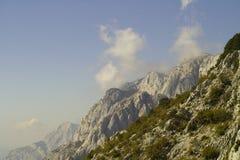 Montagna Biokovo in Croazia Fotografie Stock Libere da Diritti