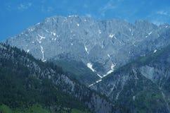 Montagna blu scuro in Sonamarg-2 Fotografia Stock Libera da Diritti