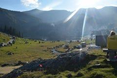 Montagna Bosnia di Vranica Fotografie Stock