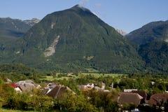 Montagna in Bovec fotografia stock libera da diritti