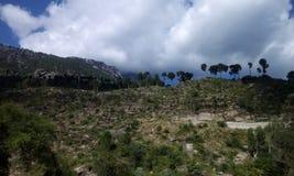 Montagna Buner Pakistan di Elum Fotografia Stock Libera da Diritti