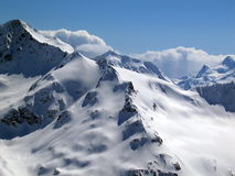 Montagna caucasica Fotografie Stock Libere da Diritti