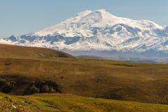 Montagna Caucaso di Elbrus Fotografia Stock