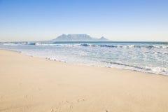 Montagna Città del Capo della Tabella immagine stock libera da diritti