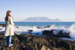 Montagna Città del Capo della Tabella Fotografie Stock Libere da Diritti
