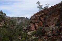 Montagna Cliff Landscape Immagini Stock