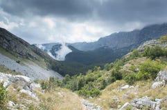 Montagna Cvrsnica in Bosnia & in Erzegovina immagini stock