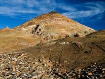 Montagna d'argento Fotografia Stock