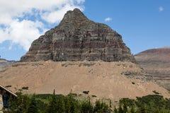 Montagna d'erosione della roccia Immagine Stock Libera da Diritti