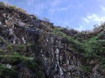 Montagna dal mare Fotografia Stock