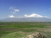 Montagna del Ararat Fotografia Stock