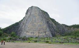 Montagna del Buddha dorato a Pattaya Per il tailandese questo è Fotografia Stock Libera da Diritti