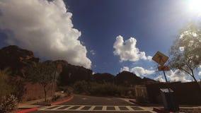 Montagna del Camelback, Echo Canyon Trail Head Entrance #2 archivi video