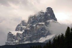 Montagna del castello Immagine Stock Libera da Diritti