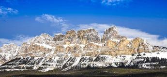 Montagna del castello fotografia stock libera da diritti