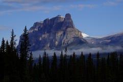 Montagna del castello, parco nazionale di Banff, Alberta, Canada Fotografia Stock Libera da Diritti