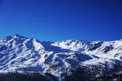 Montagna del Cervino in svizzero Immagine Stock Libera da Diritti
