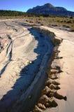 Montagna del deserto Fotografie Stock Libere da Diritti