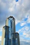 Montagna del falco del centro di affari Fotografia Stock Libera da Diritti
