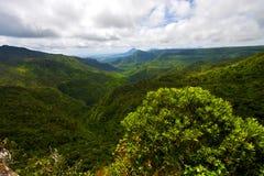 Montagna del fiume in Mauritius Fotografie Stock Libere da Diritti