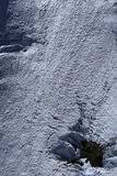 Montagna del Giappone con la neve di inverno Immagine Stock