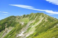 Montagna del giapponese di estate Immagini Stock