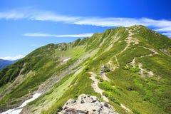 Montagna del giapponese di estate Immagine Stock