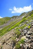 Montagna del giapponese di estate Fotografie Stock
